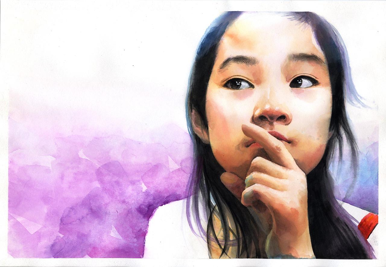 watercolor-portrait-1050712_1280