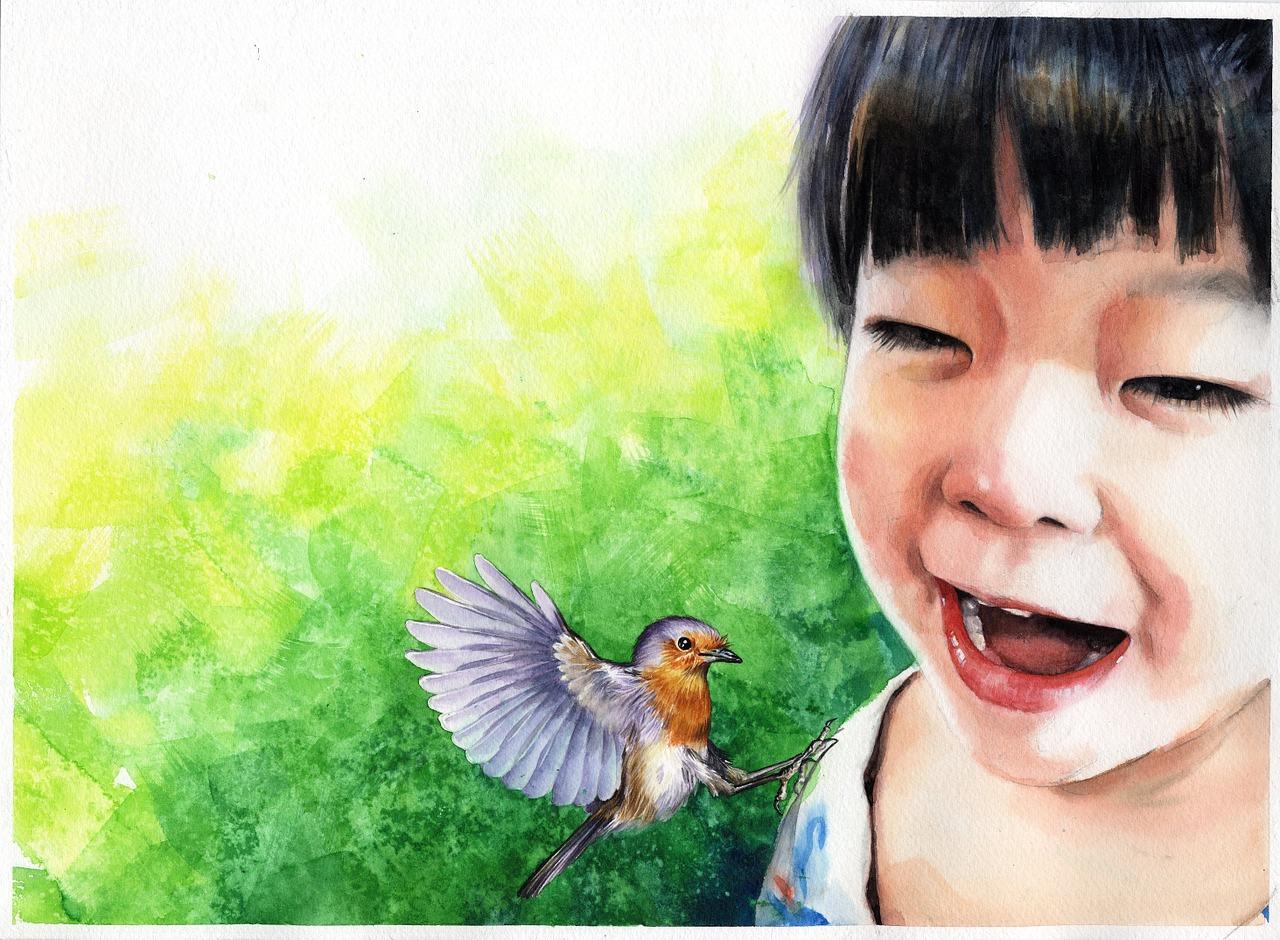 watercolor-portrait-1050721_1280